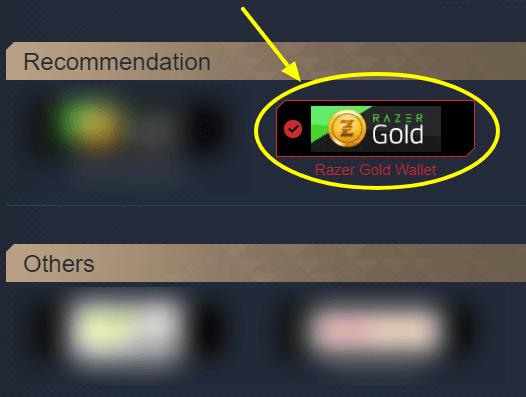 Select Razer Pin